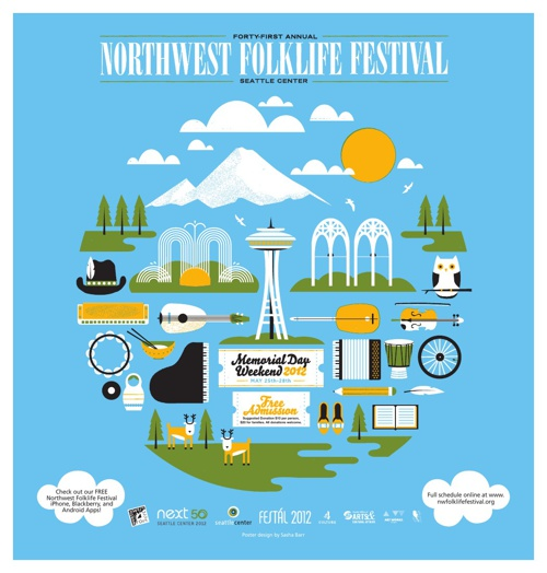 2012 Northwest Folklife Festival Guide