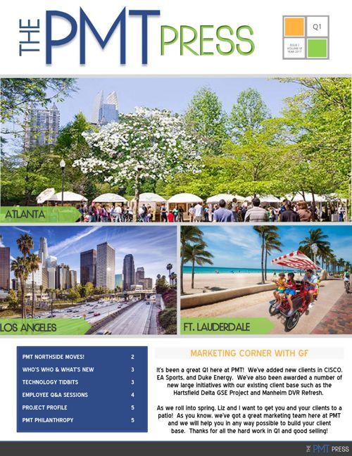 PMT Newsletter 2017 - Q1