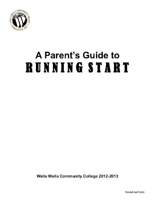 Running Start Guide 2012
