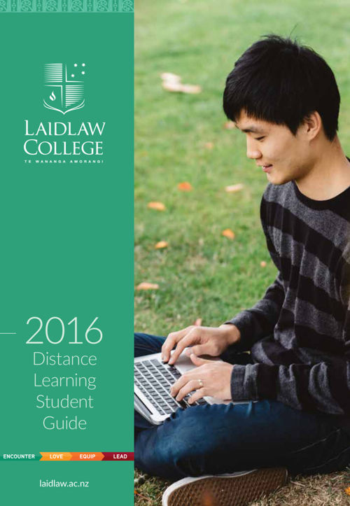 Distance Learning Student Guide - 2016