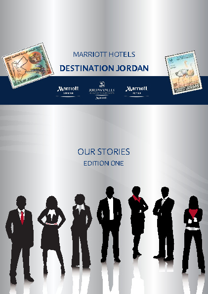 Jordan Marriott Hotels Culture Booklet
