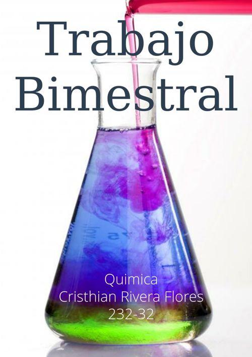 Quimica Trabajo Bimestral
