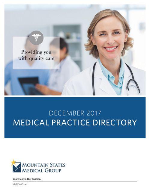 MSMG-Provider Directory December 2017