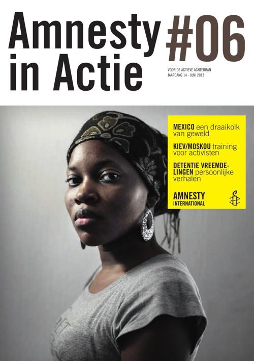 Amnesty in Actie, juni 2013