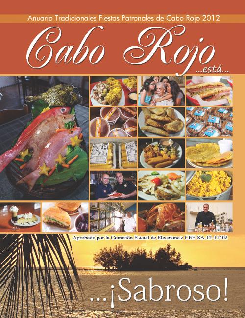 Anuario Fiestas Patronales de Cabo Rojo 2012