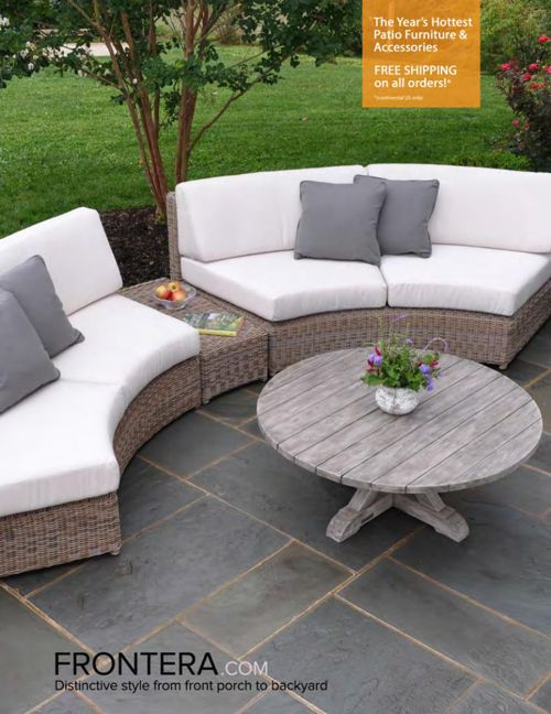 Frontera Outdoor Furniture Catalog 2015