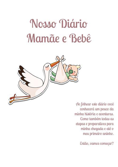 Diário da mamãe e bebê