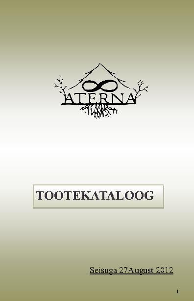 Aterna Catalog