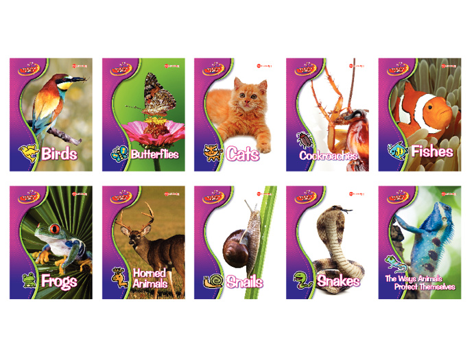 Animals - Library Set by Young Scientists Pte. Ltd.