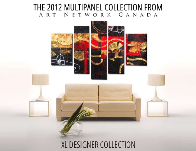 2012 Multipanel Collection - Designer