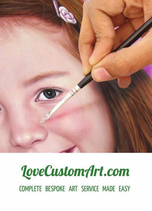 LoveCustomArt.com - Complete Bespoke Art Service Made Easy