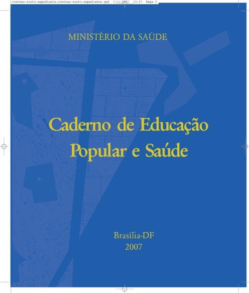 Caderno de Educação Popular e Saúde
