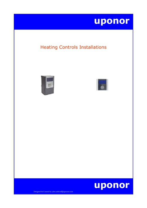 Copy of Heating Controls Installations