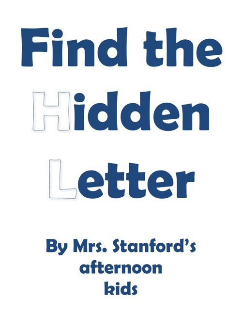 SY Stanford PM hidden letter book 2012-2013