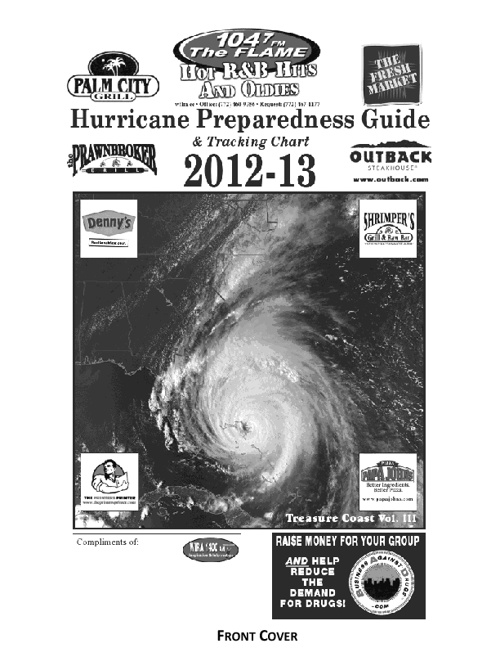 Hurricane Prepredness Guide Sample and Information