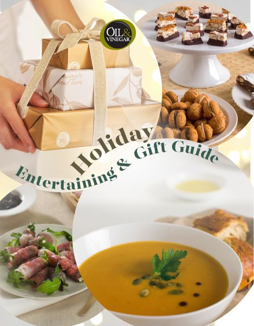 Oil & Vinegar Recipe Guide and Gift Catalog