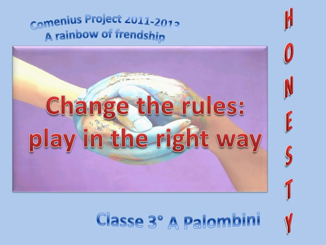 ROME Change the rules - play in the right way
