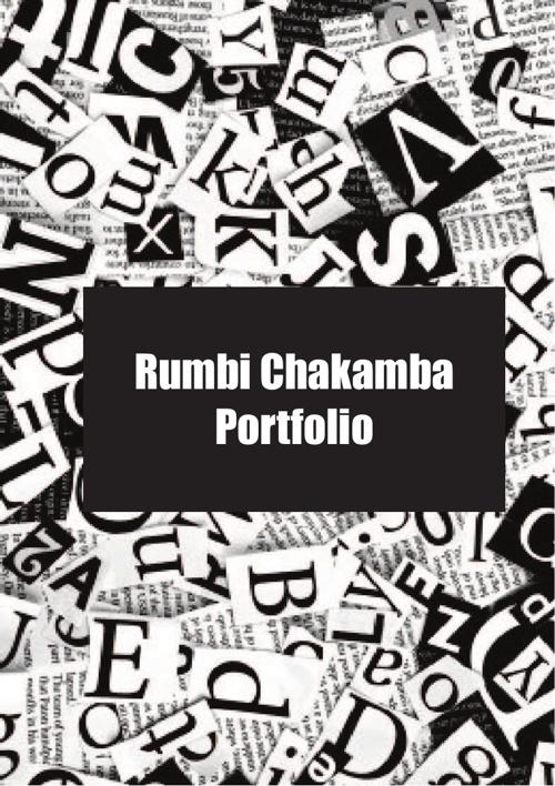 Rumbi Chakamba Portfolio