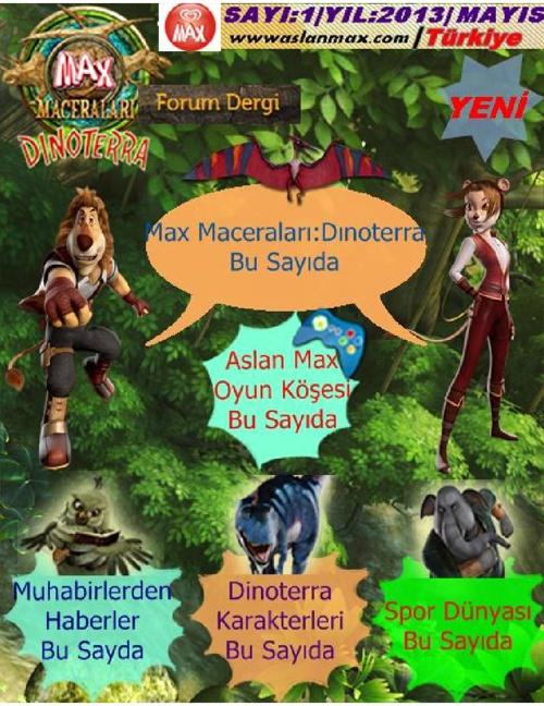 Aslan Max Forum Dergi (Sayı:1)