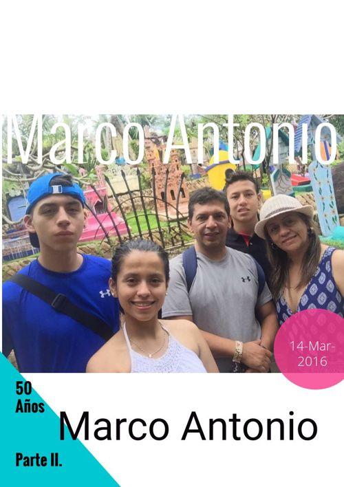 Marco Antonio. Parte II