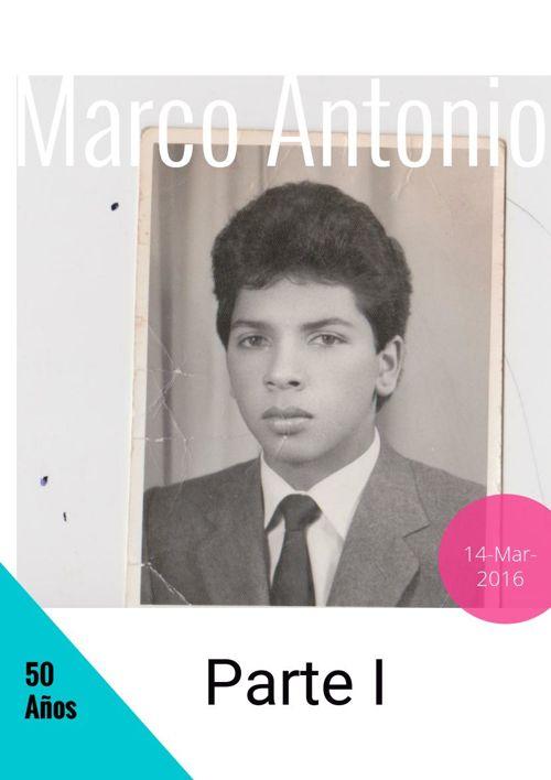 Marco Antonio. Parte I