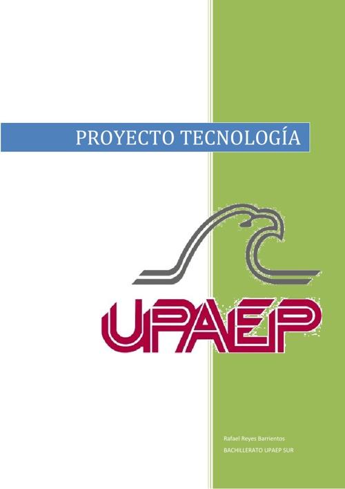 proyecto tecnología