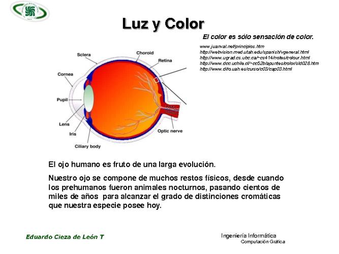 La luz y el color