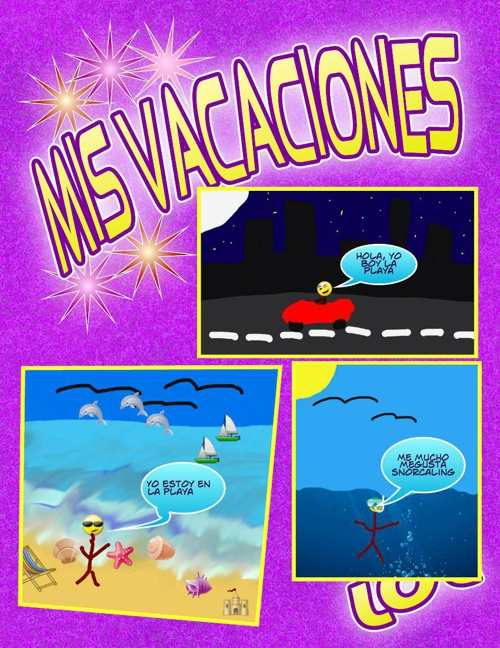 Class of 2024 Spanish Comics