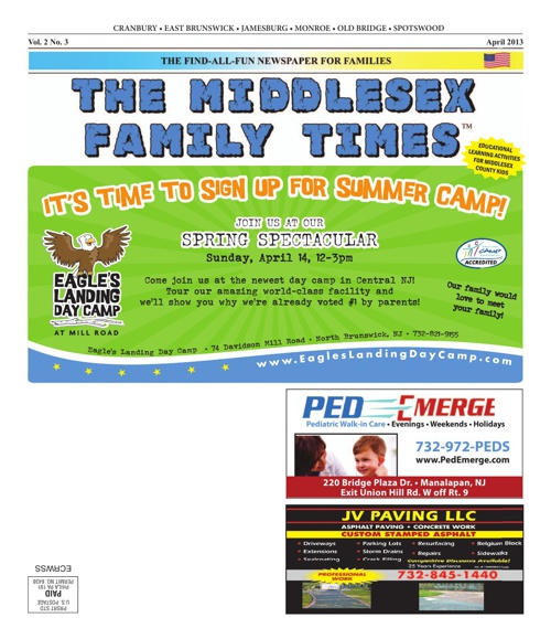 Middlesex Family Times April 2013
