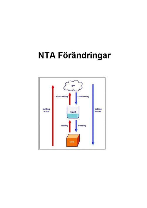 NTA -  Förändringar