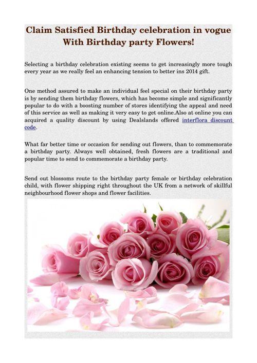 Claim Satisfied Birthday celebration in vogue With Birthday part