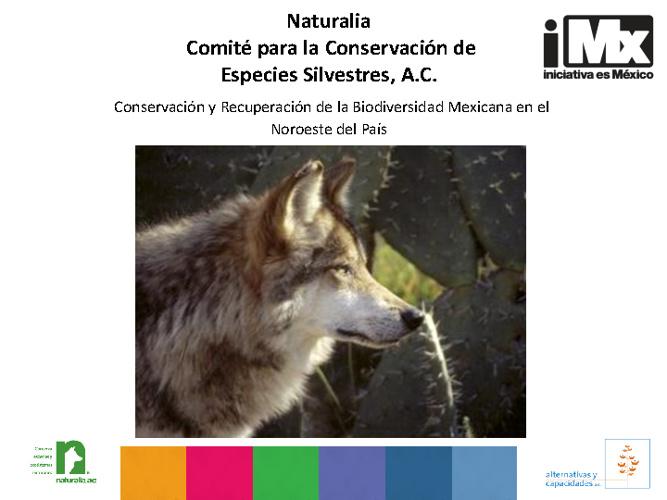 RF - Naturalia - Conservación y Recuperación de la Biodiversidad