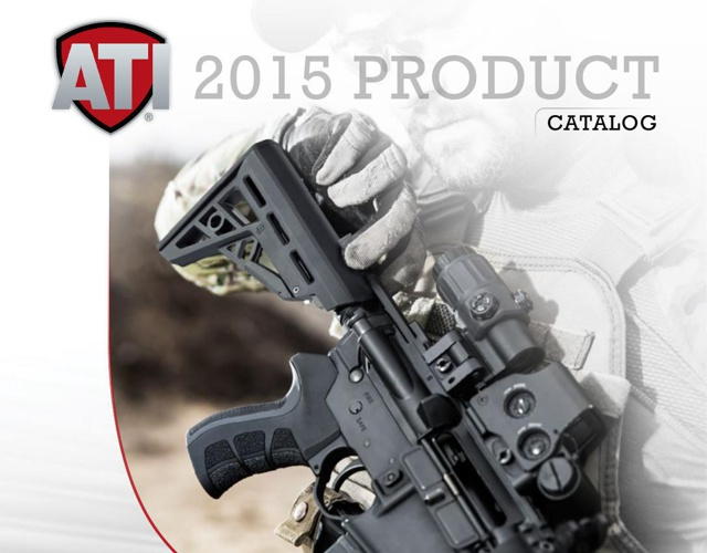 2015 ATI Product Catalog