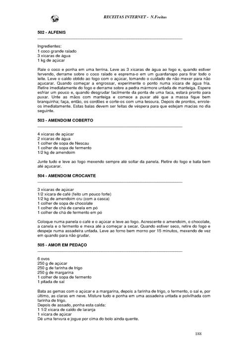 Libro de receitas part 2