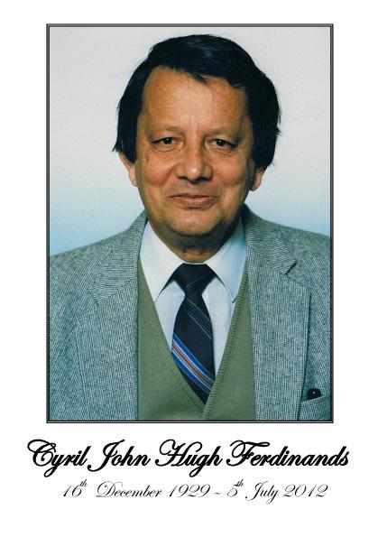 Copy of Cyril Ferdinands