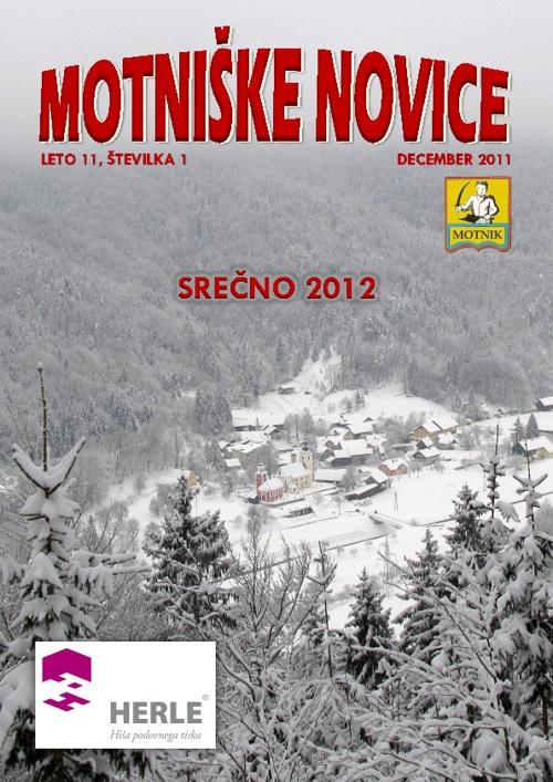 Motniške novice 2011