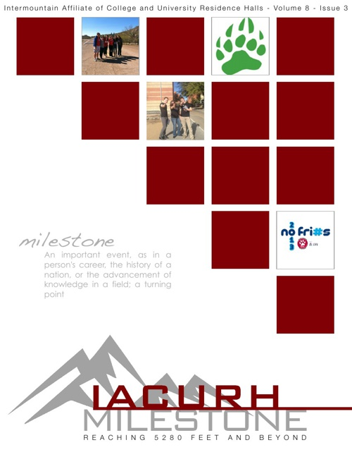 IACURH Milestone Volume 8 Issue 3