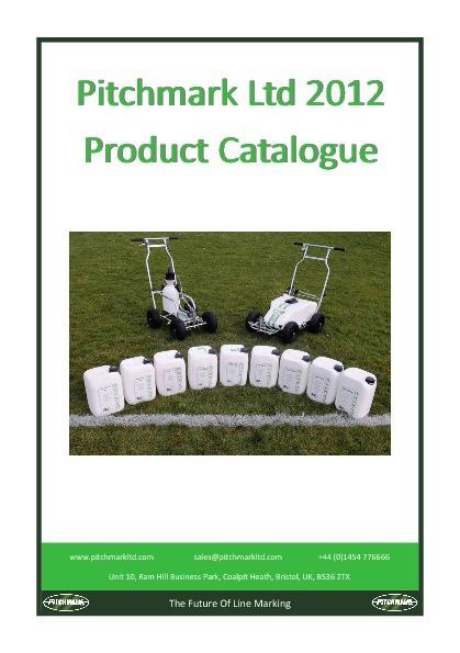 Pitchmark 2012 Catalogue
