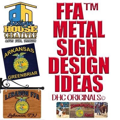 DESIGN HOUSE FFA METAL SIGN IDEA CATALOG