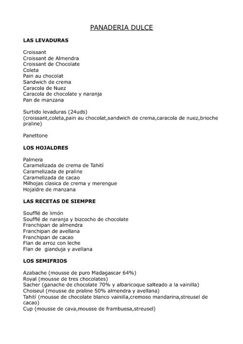 Copy of Catalogo Pomme Sucre