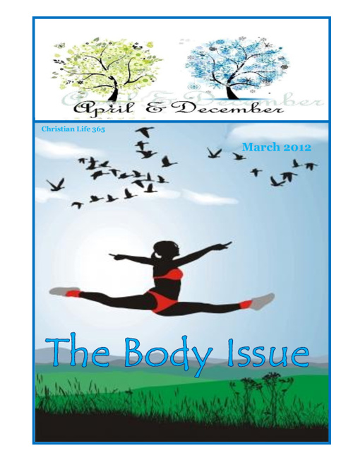 March 2012 The Body Issue