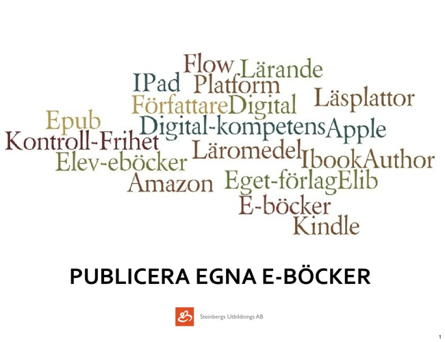 iBook Author - bildspel