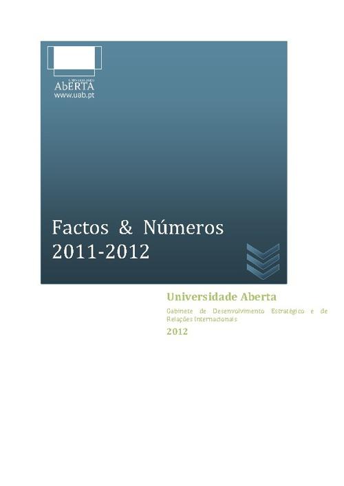 Factos & Números 2011-2012