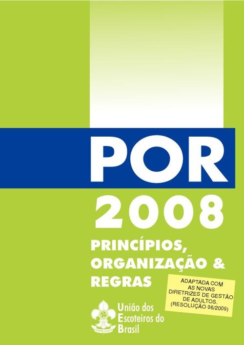 Principios - Organizações - Regras