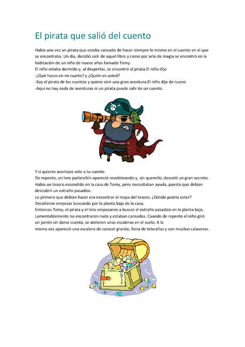 El pirata que salió del cuento