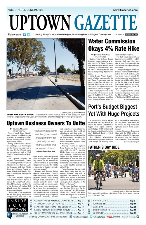 Uptown Gazette  |  June 21, 2013