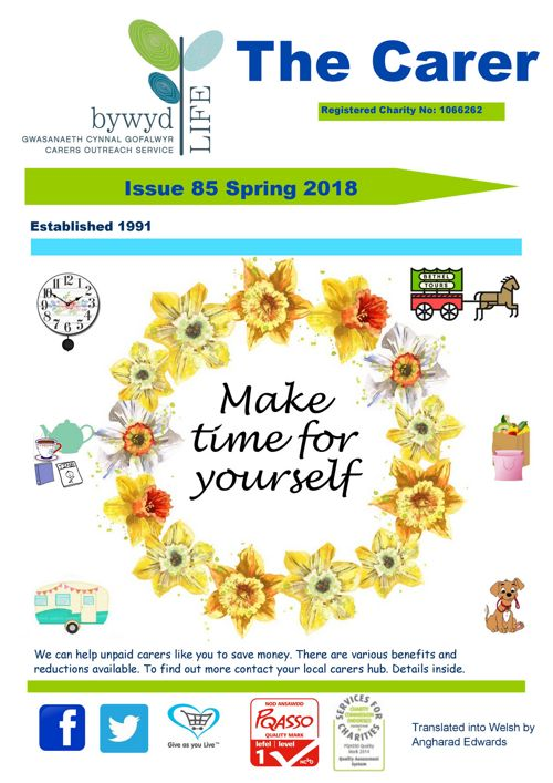 The Carer Issue 85 Spring 2018