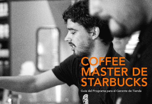 Guía del Programa Coffee Master