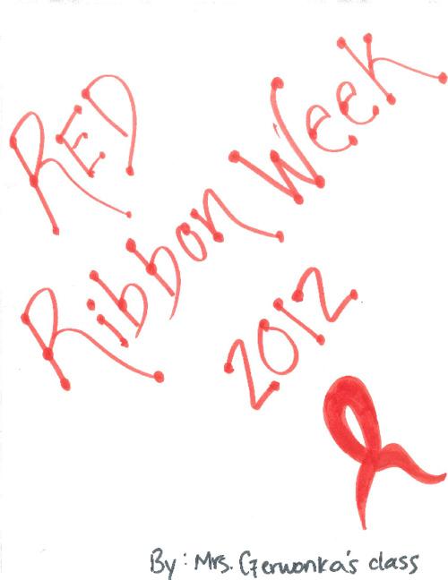 Mrs. Czerwonka Red Ribbon Week 2012