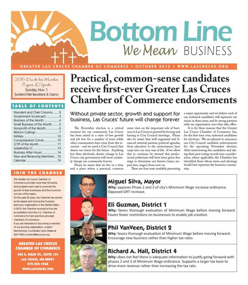 The Bottom Line October 2015
